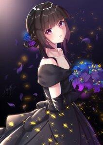 Rating: Safe Score: 25 Tags: cleavage dress niyu_n_iyun no_bra senki_zesshou_symphogear tsukuyomi_shirabe User: yanis