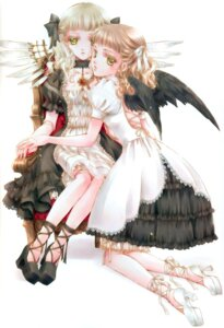 Rating: Safe Score: 10 Tags: lolita_fashion minakami_kaori wings User: Davison
