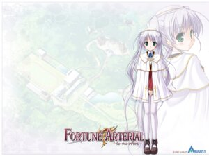 Rating: Safe Score: 10 Tags: bekkankou fortune_arterial tougi_shiro wallpaper User: admin2
