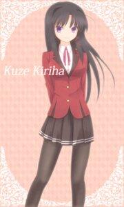 Rating: Safe Score: 20 Tags: fortune_arterial kuze_kiriha mokkei pantyhose seifuku User: vanilla