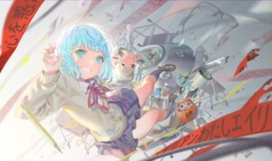 Rating: Safe Score: 16 Tags: alphonse hatsune_miku seifuku sweater vocaloid User: Dreista