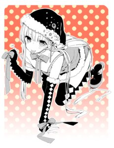 Rating: Safe Score: 28 Tags: christmas monochrome sakiyo_cake thighhighs trap User: KazukiNanako