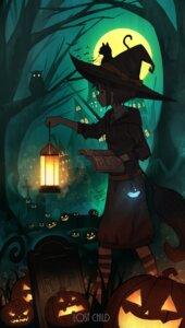 Rating: Questionable Score: 13 Tags: halloween neko pasoputi tagme witch User: Dreista