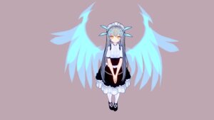 Rating: Questionable Score: 11 Tags: elsword eve_(elsword) maid tagme wallpaper wings User: kail28391