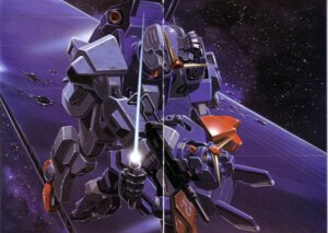 Rating: Safe Score: 4 Tags: gap gun gundam gundam_side_story:_the_blue_destiny mecha okawara_kunio rx-79bd-1_gm_blue_destiny_unit_2 rx-79bd-1_gm_blue_destiny_unit_3 sword User: Radioactive