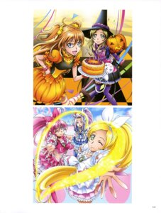 Rating: Questionable Score: 5 Tags: dress halloween houjou_hibiki hummy kurokawa_ellen minamino_kanade pretty_cure suite_pretty_cure takahashi_akira thighhighs witch User: drop