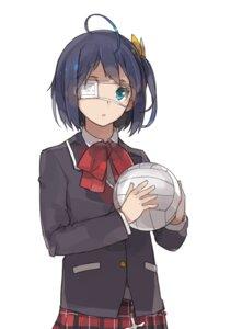 Rating: Safe Score: 11 Tags: chuunibyou_demo_koi_ga_shitai! eyepatch sakura_sora seifuku takanashi_rikka User: Radioactive
