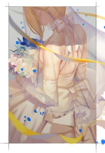 Rating: Safe Score: 37 Tags: dress fate/grand_order gaoyang_ou_nisang saber wedding_dress User: Mr_GT