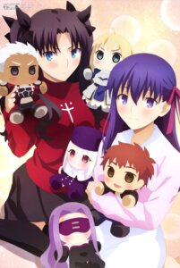 Rating: Safe Score: 46 Tags: archer armor bandou_mika chibi dress emiya_shirou fate/stay_night fate/stay_night_heaven's_feel illyasviel_von_einzbern matou_sakura rider saber sweater thighhighs toosaka_rin type-moon ufotable User: drop