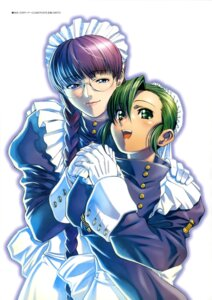 Rating: Safe Score: 9 Tags: black_lagoon fabiola_iglesias hiroe_rei maid megane roberta User: drop
