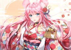 Rating: Safe Score: 19 Tags: animal_ears kimono nu10040904 User: Arsy