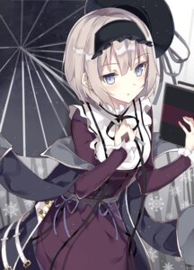 Rating: Safe Score: 43 Tags: alice_margatroid dress leisss touhou umbrella User: BattlequeenYume