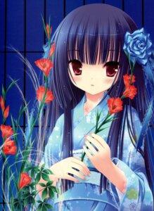 Rating: Safe Score: 36 Tags: harukaze_setsuna kimono tinkle User: petopeto