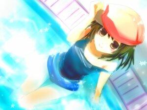 Rating: Safe Score: 22 Tags: bakemonogatari haru_aki school_swimsuit sengoku_nadeko swimsuits User: fairyren