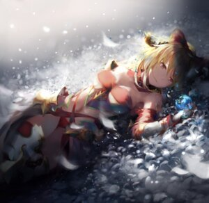 Rating: Safe Score: 60 Tags: armor cleavage granblue_fantasy natsumoka pantsu thighhighs vira_(granblue_fantasy) User: BattlequeenYume