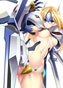 Rating: Questionable Score: 48 Tags: blazblue mecha_musume mu-12 tro underboob User: Radioactive