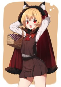 Rating: Safe Score: 25 Tags: animal_ears rumia tagme touhou User: RyuZU