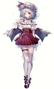 Rating: Safe Score: 32 Tags: garter hito_komoru remilia_scarlet thighhighs touhou wings User: Dreista