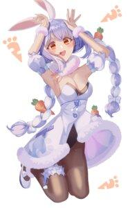 Rating: Safe Score: 13 Tags: animal_ears bunny_ears bunny_girl daimi_94 garter hololive pantyhose usada_pekora User: Dreista