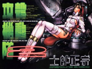 Rating: Questionable Score: 9 Tags: erect_nipples ghost_in_the_shell kusanagi_motoko shirow_masamune wallpaper User: zhukovsan