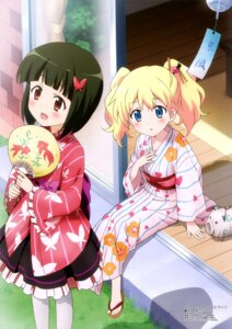 Rating: Safe Score: 45 Tags: alice_cartelet hello!!_kin'iro_mosaic kawada_izumi kin'iro_mosaic lolita_fashion oomiya_shinobu pantyhose wa_lolita yukata User: drop