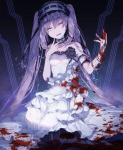 Rating: Safe Score: 29 Tags: blood dress fate/grand_order stheno yuuki_kira User: Mr_GT