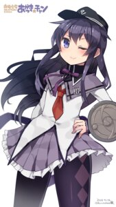 Rating: Safe Score: 40 Tags: akatsuki_(kancolle) akemi_homura cosplay kantai_collection kuro_chairo_no_neko pantyhose puella_magi_madoka_magica User: Mr_GT