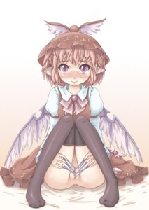 Rating: Explicit Score: 9 Tags: loli marujin mystia_lorelei nopan pussy thighhighs touhou User: Mr_GT