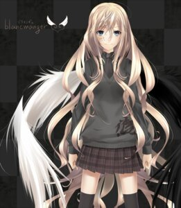 Rating: Safe Score: 34 Tags: nil seifuku thighhighs wings User: TyxoC