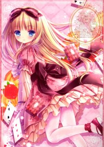 Rating: Safe Score: 48 Tags: dress harukaze_setsuna lolita_fashion pantyhose tinkerbell tinkle User: kaguya940385