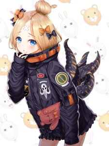 Rating: Questionable Score: 20 Tags: abigail_williams_(fate) bandaid fate/grand_order now_(nowsicaa_) tentacles User: sym455