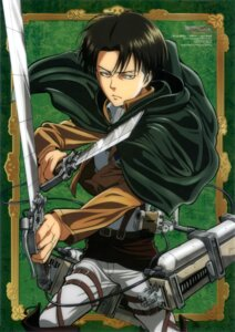 Rating: Safe Score: 15 Tags: levi male shingeki_no_kyojin sword tomita_megumi uniform User: drop