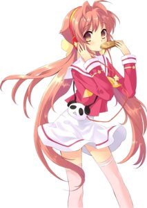 Rating: Safe Score: 43 Tags: headphones ito_noizi neon seifuku thighhighs User: fireattack
