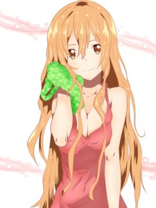 Rating: Safe Score: 50 Tags: asuna_(sword_art_online) cleavage sword_art_online tagme towel User: Spidey