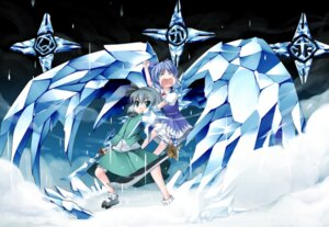 Rating: Safe Score: 17 Tags: bleach cirno konpaku_youmu parody tajuu touhou wings User: konstargirl