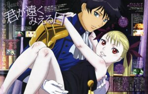 Rating: Safe Score: 13 Tags: akira_kaburagi_regendorf dance_in_the_vampire_bund konno_naoyuki mina_tepes User: acas
