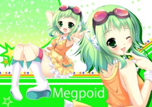 Rating: Safe Score: 17 Tags: gumi natsumikan thighhighs vocaloid User: fairyren