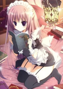 Rating: Questionable Score: 92 Tags: fixed inugami_kira maid stockings thighhighs User: poo-san