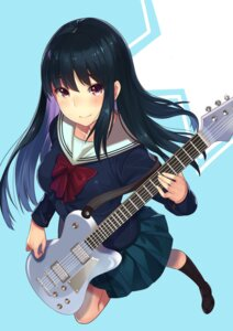 Rating: Safe Score: 41 Tags: guitar kagematsuri seifuku User: Mr_GT