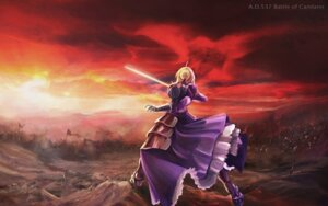 Rating: Questionable Score: 21 Tags: armor fate/stay_night saber sword ushas User: lostmemory