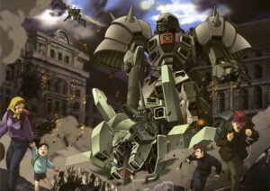 Rating: Safe Score: 4 Tags: gundam gundam_f91 mecha User: Radioactive