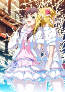 Rating: Safe Score: 40 Tags: 2c=galore ayase_eli dress love_live! toujou_nozomi User: SubaruSumeragi