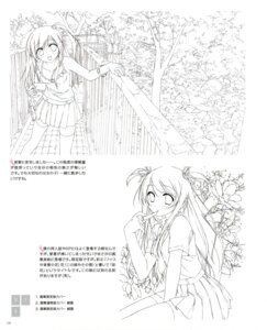 Rating: Safe Score: 9 Tags: 5_nenme_no_houkago kantoku line_art monochrome User: Kalafina