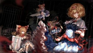 Rating: Safe Score: 17 Tags: alice_margatroid dress kiyomasa_ren shanghai sword touhou User: Mr_GT