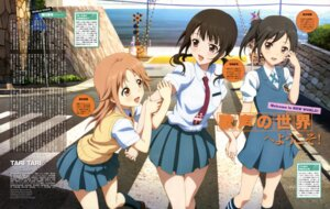 Rating: Safe Score: 36 Tags: amasaki_manamu miyamoto_konatsu okita_sawa sakai_wakana seifuku tari_tari User: Radioactive
