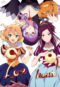 Rating: Safe Score: 38 Tags: cleavage dress freyja_wion halloween macross_delta mikumo_guynemer mirage_farina_jenius shirakawa_ayako User: drop