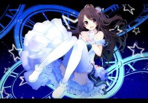Rating: Safe Score: 54 Tags: cleavage dress heels kazenoko pantsu shimamura_uzuki the_idolm@ster the_idolm@ster_cinderella_girls the_idolm@ster_cinderella_girls_starlight_stage thighhighs User: Mr_GT