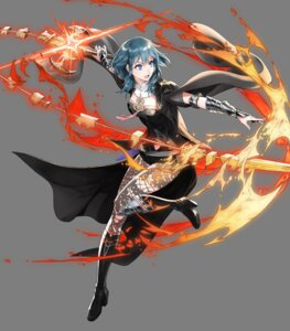 Rating: Questionable Score: 2 Tags: armor byleth fire_emblem fire_emblem_heroes fire_emblem_three_houses heels hirooka_masaki nintendo pantyhose weapon User: fly24