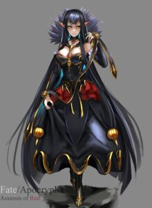 Rating: Safe Score: 24 Tags: assassin_of_red_(fate/apocrypha) cleavage dress fate/apocrypha fate/stay_night noboru pointy_ears User: JediJaina