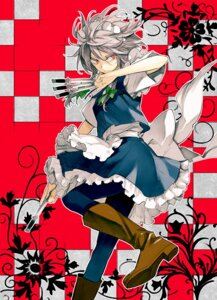 Rating: Safe Score: 19 Tags: izayoi_sakuya maid minakata_sunao touhou weapon User: Radioactive